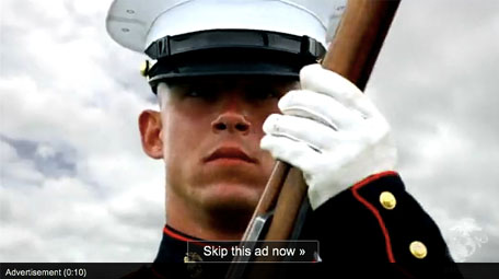 US Marine Corps Reaches Their Audience Through YouTube