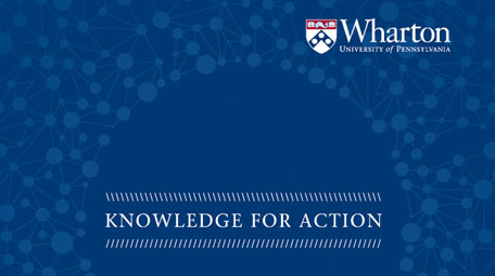 Wharton: Knowledge for Action